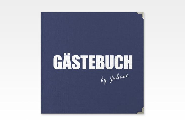 "Gästebuch Selection Geburtstag ""Zig"" Leinen-Hardcover blau"
