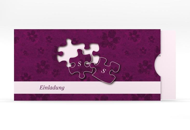 """Hochzeitseinladung """"Ravensburg"""" Einsteckkarte"""