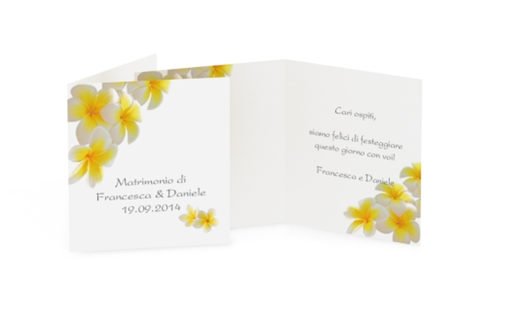 Biglietti Bomboniera matrimonio collezione Napoli Geschenkanhänger 10er Set