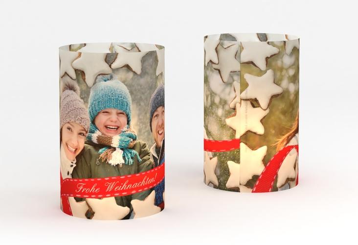 """Windlicht Weihnachten """"Zuckerguss"""" Windlicht"""