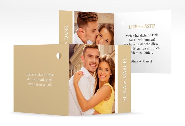 """Geschenkanhänger Hochzeit """"Classic"""" Geschenkanhänger 10er Set beige"""