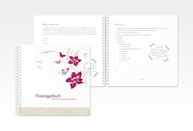 """Trautagebuch Hochzeit """"Parma"""" Trautagebuch Hochzeit"""