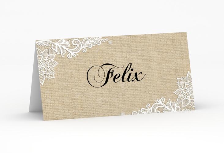 """Tischkarte Hochzeit """"Lace"""" Tischkarten"""