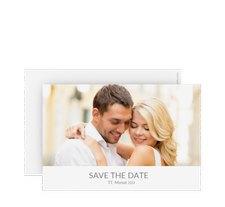 """Save the Date-Karte Hochzeit """"Vista"""""""