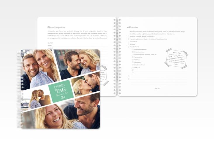 """Trautagebuch Hochzeit """"Rise"""" Trautagebuch Hochzeit mint"""