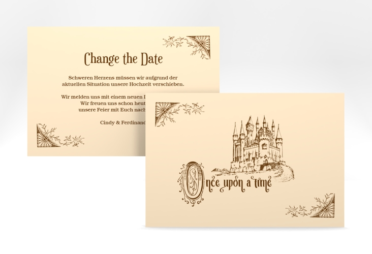 "Change the Date-Karte ""Storybook"" A6 quer"