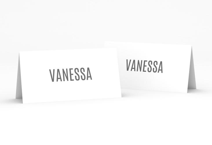 """Tischkarte Hochzeit """"Amazing"""" Tischkarten weiss"""