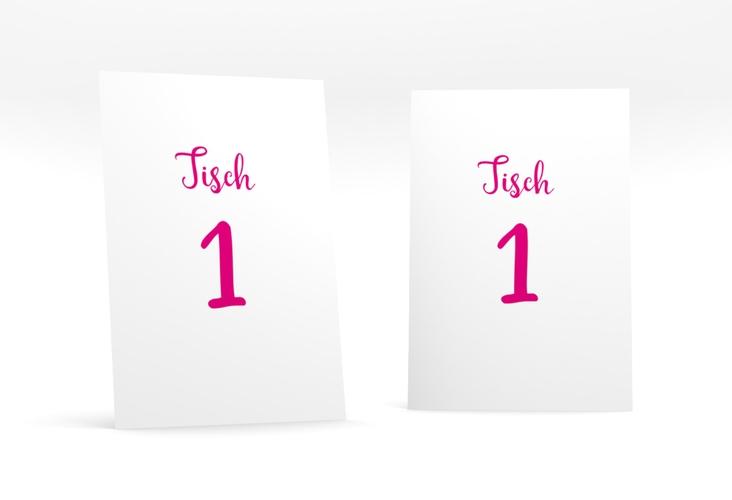 """Tischnummer Hochzeit """"Felice"""" Tischaufsteller"""