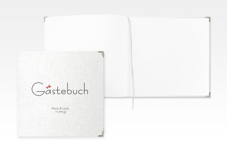 "Gästebuch Selection Hochzeit ""Twohearts"" Leinen-Hardcover"