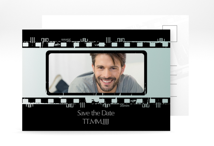 "Save the Date-Postkarte ""Christian/Christine"" A6 Postkarte"