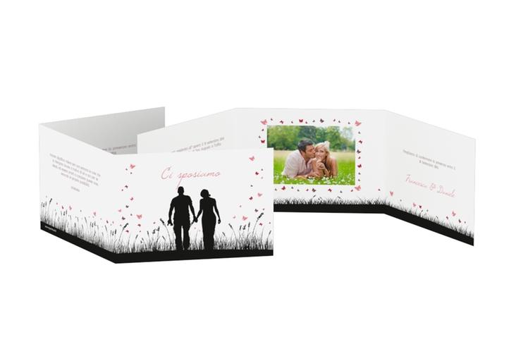 Inviti matrimonio collezione Rouen A6 doppelt geklappt