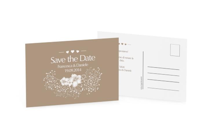 Biglietti Save the Date collezione Pescara A6 Postkarte