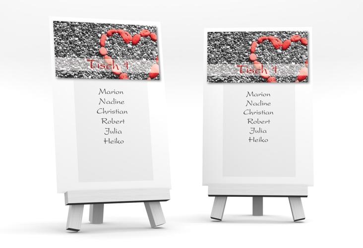 """Tischaufsteller Hochzeit """"Bilbao"""" Tischaufsteller"""