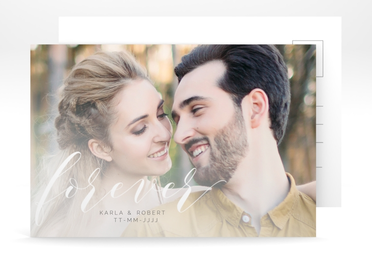 "Verlobungskarte ""Promise"" A6 Postkarte"