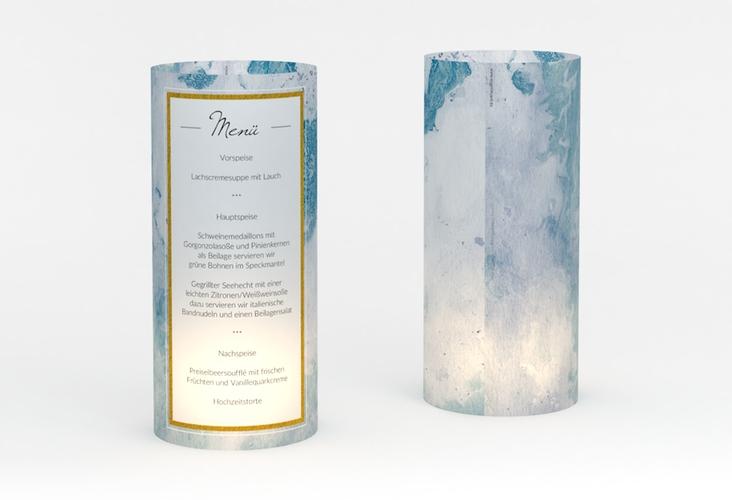 """Windlicht Menü Hochzeit """"Marble"""" Windlicht"""