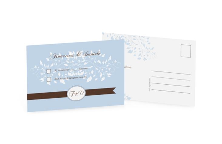 Biglietti risposta matrimonio collezione Malaga A6 Postkarte