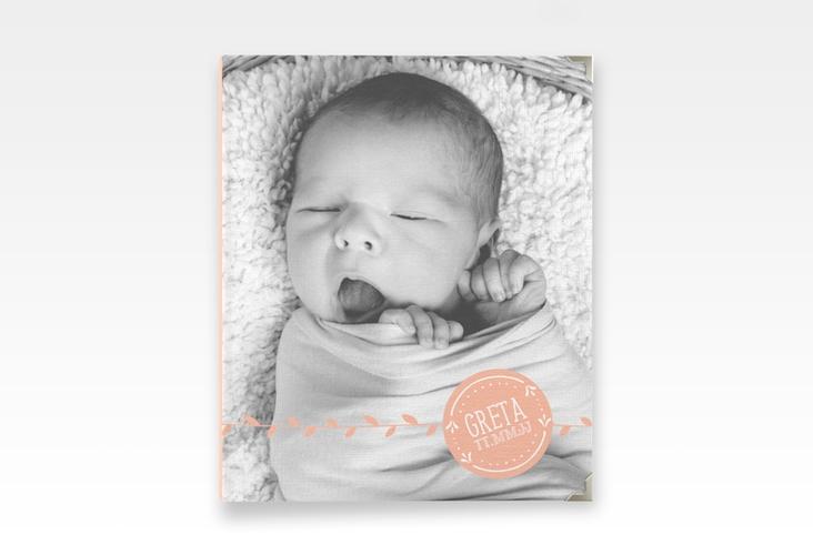 "Baby Fotoalbum ""Unikat"" 21 x 25 cm apricot"