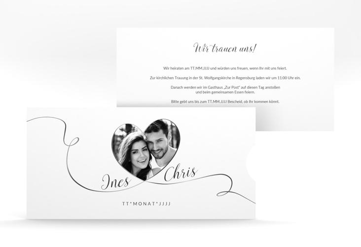 """Hochzeitseinladung """"Dolce"""" Einsteckkarte"""
