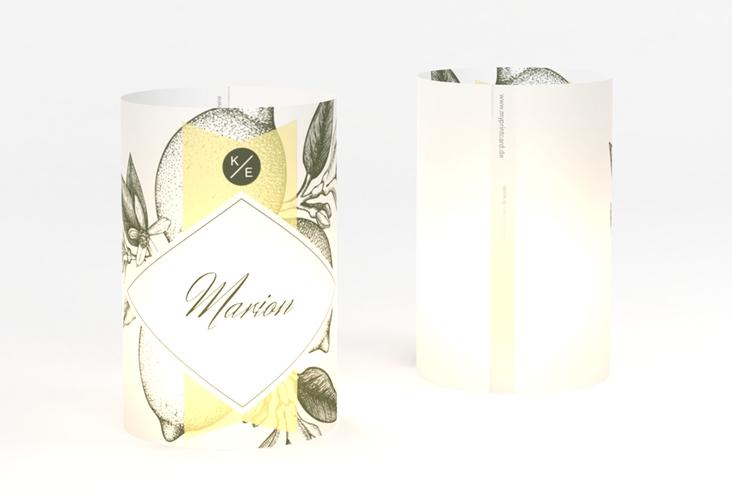 """Windlicht Hochzeit """"Lemon"""" Windlicht"""