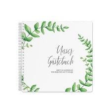 """Gästebuch Hochzeit """"Botanic"""""""