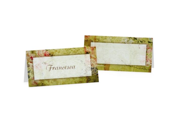 Segnaposti matrimonio collezione Parigi Tischkarten