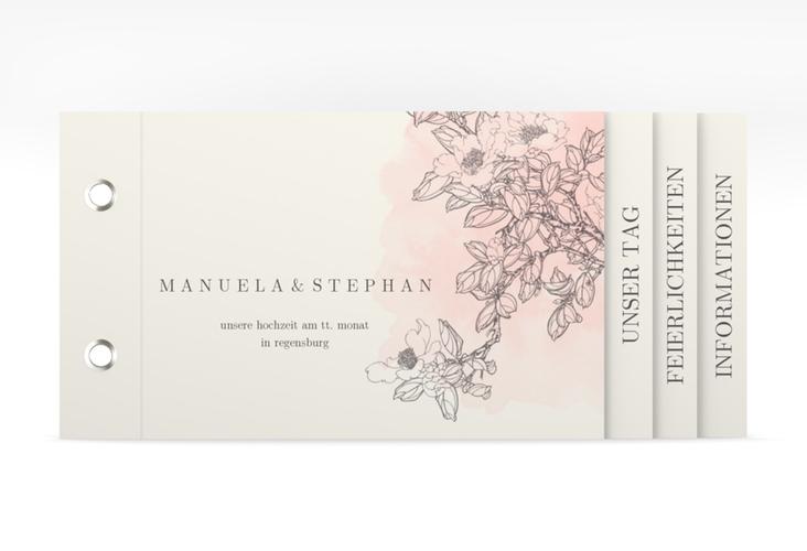 """Hochzeitseinladung """"Artlover"""" Booklet"""