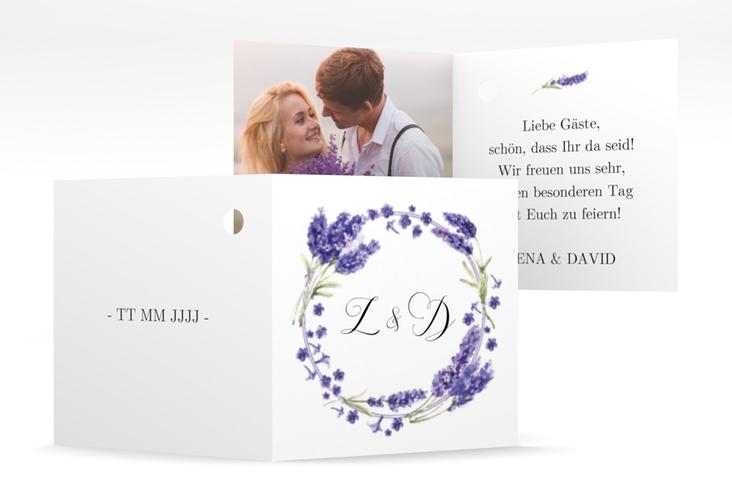 """Geschenkanhänger Hochzeit """"Lavendel"""" Geschenkanhänger 10er Set"""