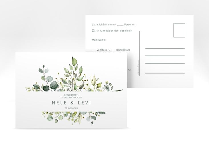 "Antwortkarte Hochzeit ""Enchanting"" A6 Postkarte"