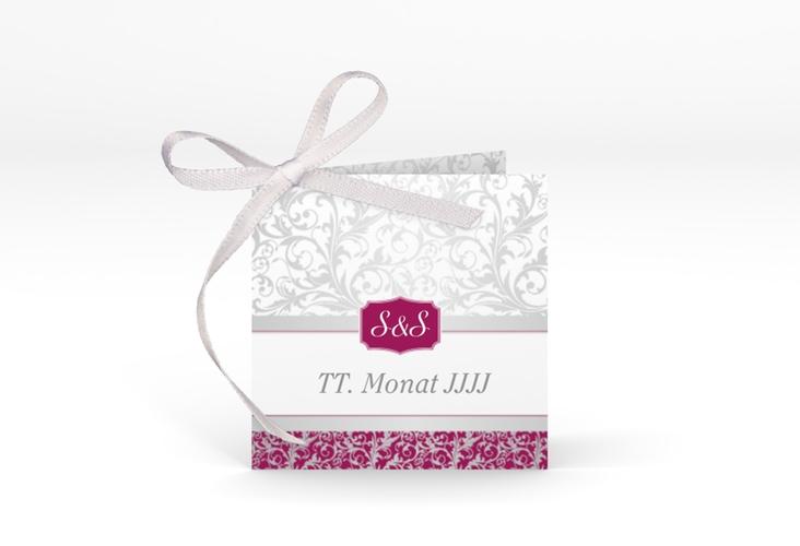 """Geschenkanhänger Hochzeit """"Latina"""" Geschenkanhänger 10er Set pink"""