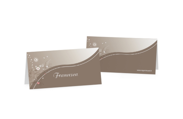 Segnaposti matrimonio collezione Taranto Tischkarten