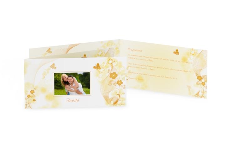 Inviti matrimonio collezione Ravenna DIN lang Klappkarte
