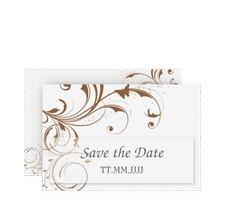 "Save the Date-Karte Hochzeit ""Palma"""