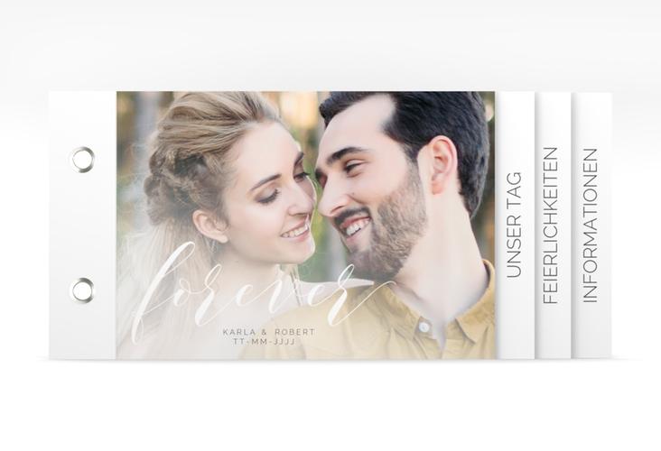 """Hochzeitseinladung """"Promise"""" Booklet"""