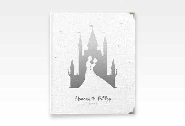 "Hochzeitsalbum ""Castle"" 21 x 25 cm grau"