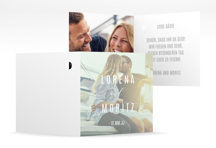"""Geschenkanhänger Hochzeit """"Memory"""" Geschenkanhänger 10er Set mint"""