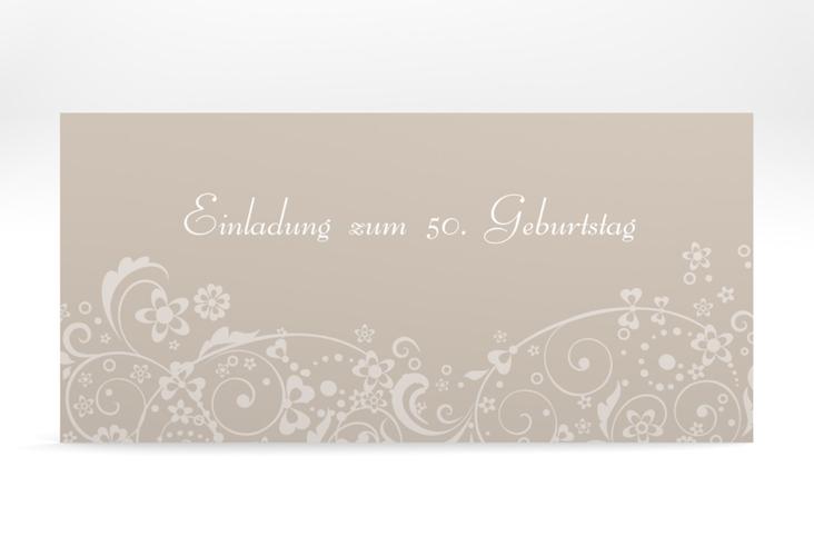 "Einladungskarte ""Magdalena"" DIN lang"