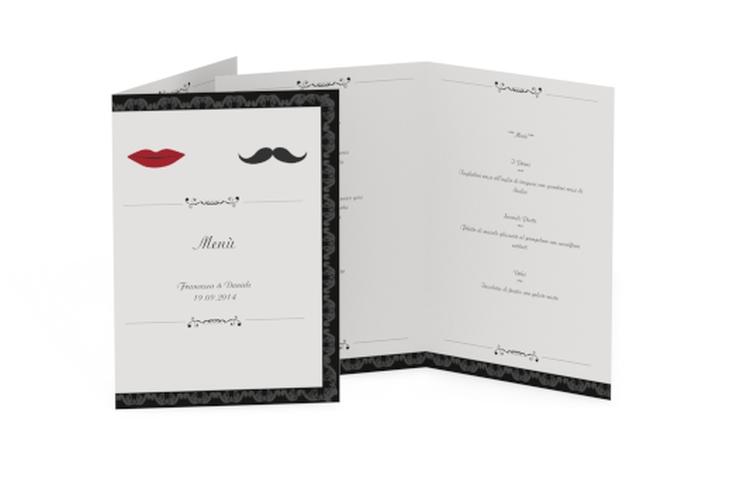 Menù matrimonio collezione Arezzo DIN A5 geklappt