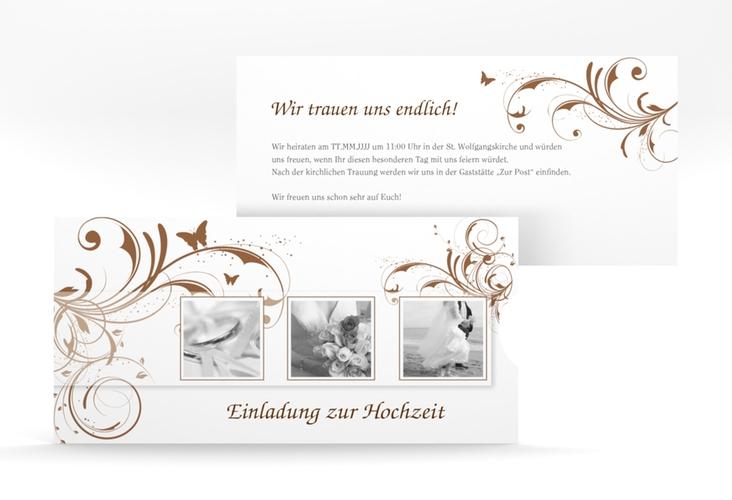 """Hochzeitseinladung """"Palma"""" Einsteckkarte"""
