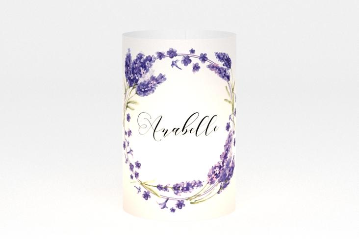 """Windlicht Hochzeit """"Lavendel"""" Windlicht"""
