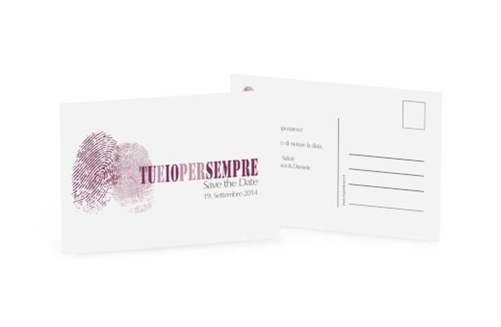 Biglietti Save the Date collezione Messina A6 Postkarte