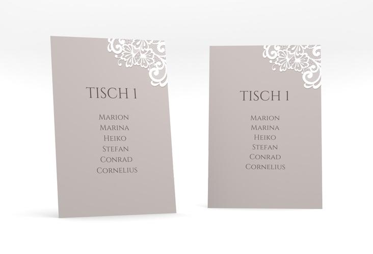 """Tischaufsteller Hochzeit """"Vintage"""" Tischaufsteller"""