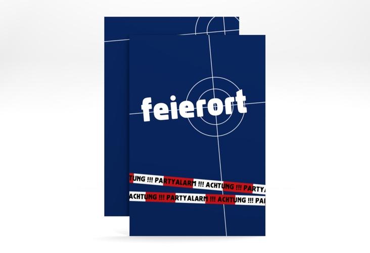 """Einladungskarte """"Feierort"""" A6 hoch"""