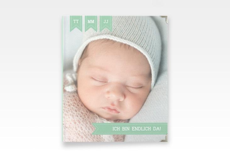 "Baby Fotoalbum ""Kinderlachen"" 21 x 25 cm mint"