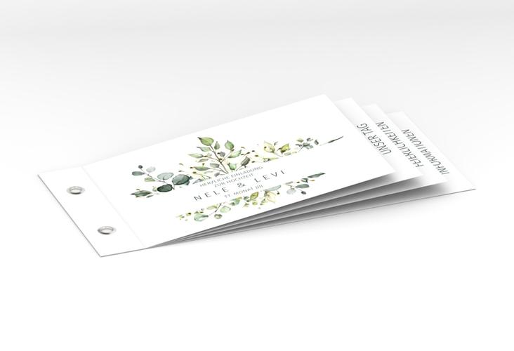 """Hochzeitseinladung """"Enchanting"""" Booklet"""