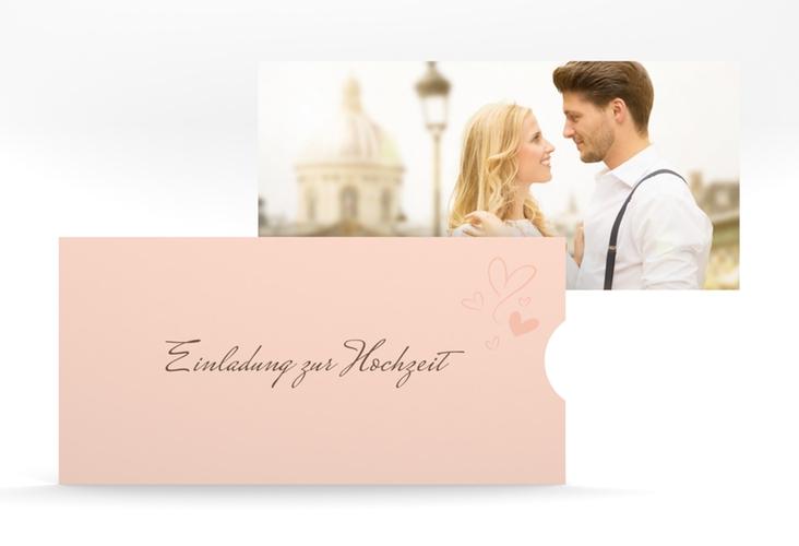 """Hochzeitseinladung """"Purity"""" Einsteckkarte"""