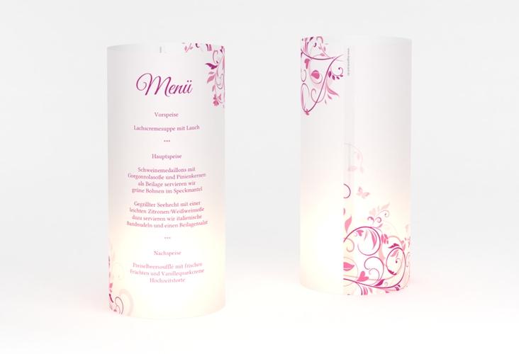 """Windlicht Menü Hochzeit """"Lilly"""" Windlicht"""
