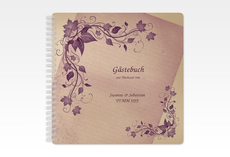 "Gästebuch Hochzeit ""Erfurt"" Ringbindung"