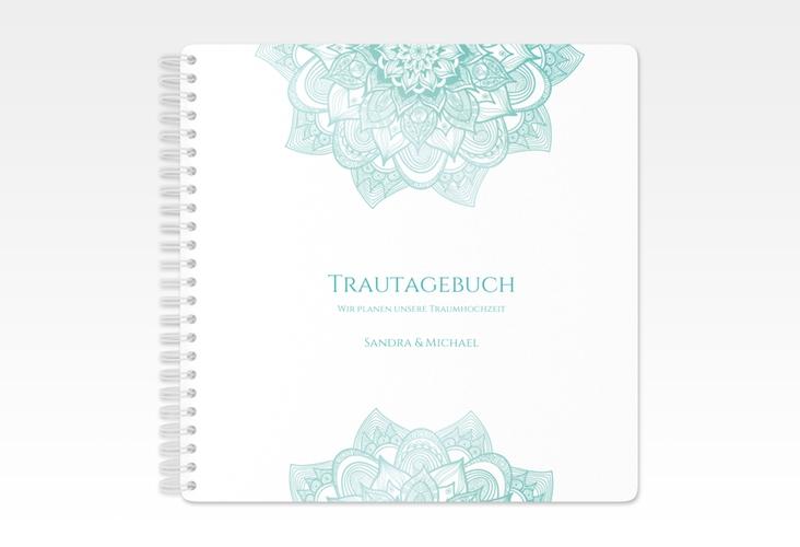 """Trautagebuch Hochzeit """"Delight"""" Trautagebuch Hochzeit mint"""