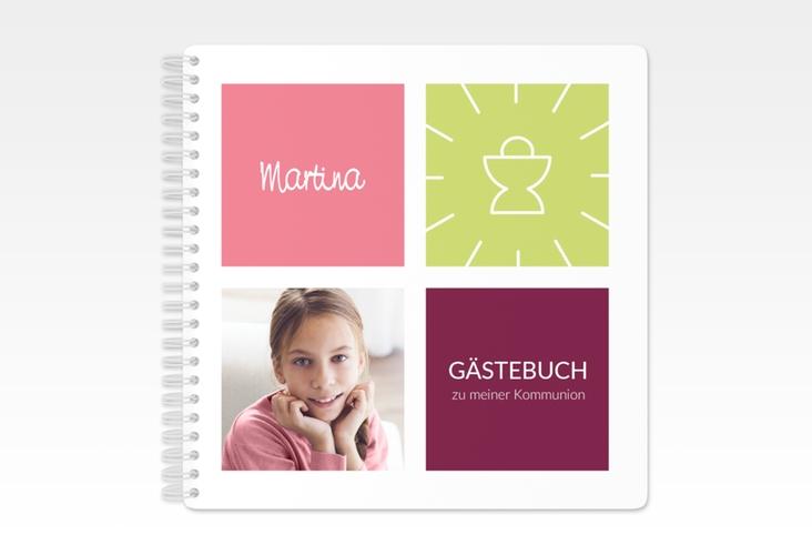 "Gästebuch Kommunion ""Arcula"" Ringbindung"