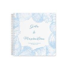 """Trautagebuch Hochzeit """"Muschelreich"""""""